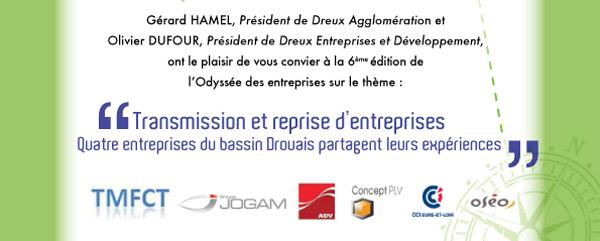 Transmission et reprise d'entreprises : l'Odyssée des entreprises à Dreux