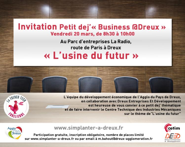 Business @Dreux : L'usine du futur