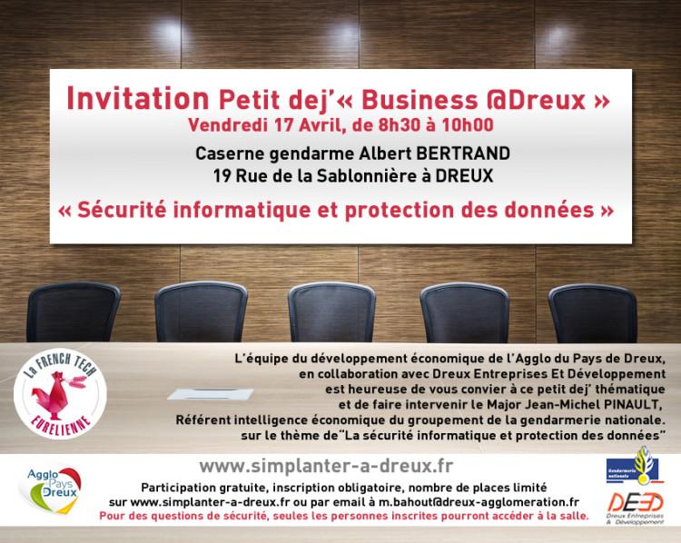 Business @Dreux : Sécurité informatique et protection des données