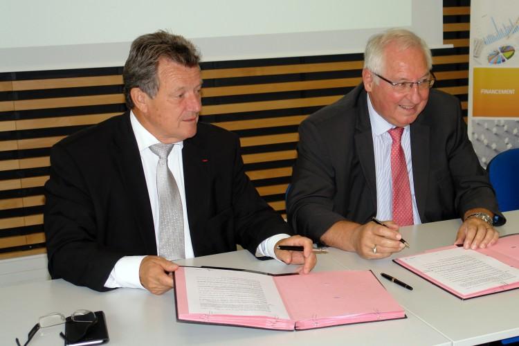 Un partenariat de toujours, entre l'Agglo du Pays de Dreux et la CCI d'Eure-et-Loir !