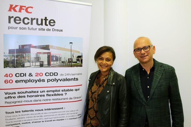 KFC recrute et forme 41 personnes à Dreux