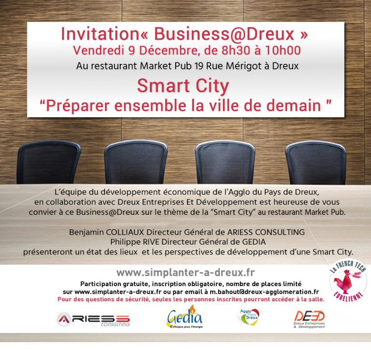 Business@Dreux Smart City du 9 décembre 2016