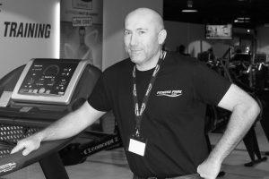 Vincent Ledent, gérant du Fitness Park de Dreux