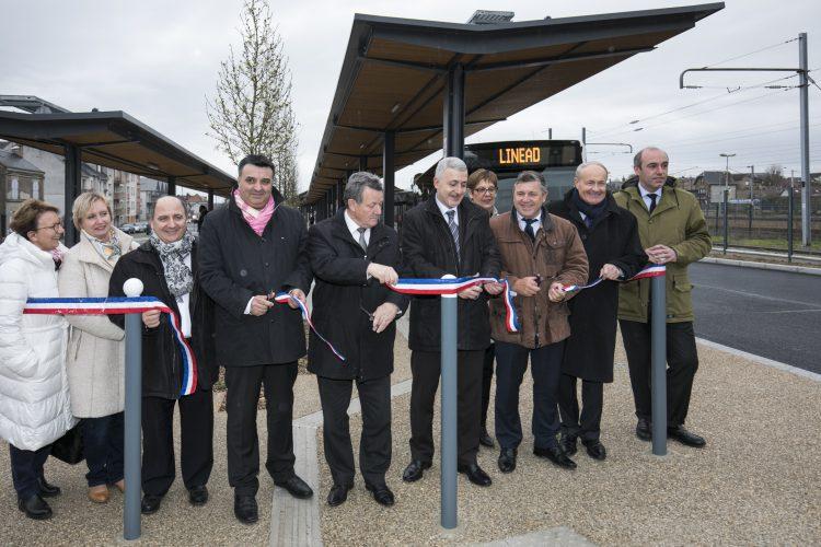 La nouvelle gare routière de Dreux inaugurée
