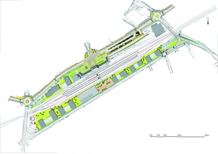 Pôle gare: un parking aérien va voir le jour