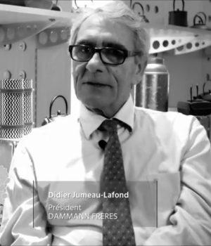 Didier Jumeau-Lafond, Président de la société Dammann Frères