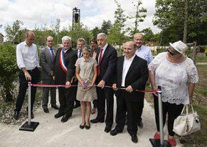 Inauguration du Jardin de la Fonderie de Saulnières : une reconversion industrielle exemplaire