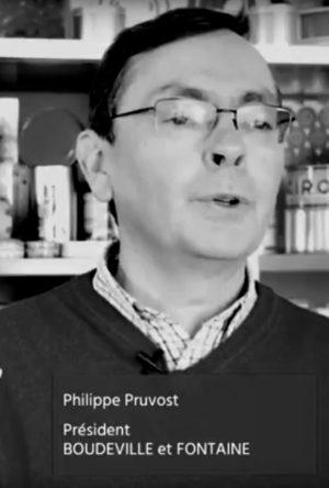 Philippe Pruvost, président de la société Boudeville et Fontaine