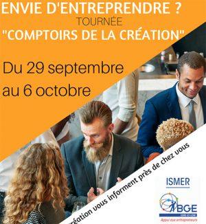 BGE ISMER: le programme des actions destinées aux entrepreneurs