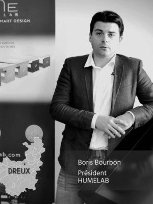 Boris Bourbon, président de la société HUMElab