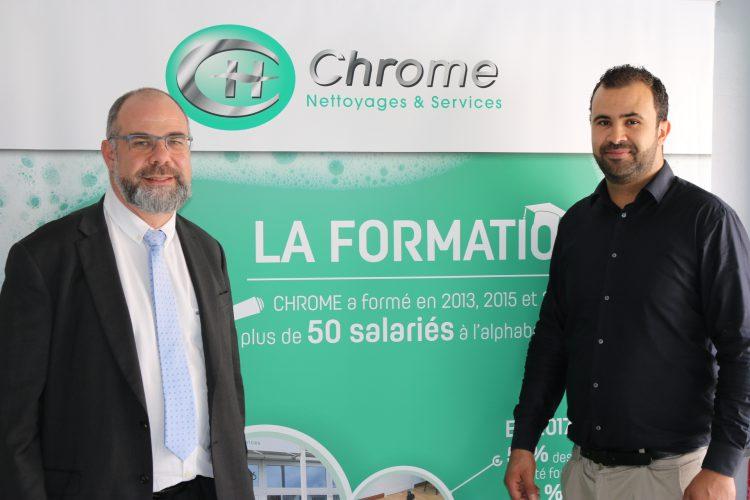 L' agence de nettoyage «Chrome» s'installe à Dreux