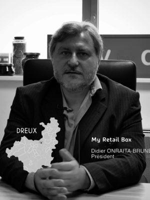 Didier Onraita, président de la société My Retail Box