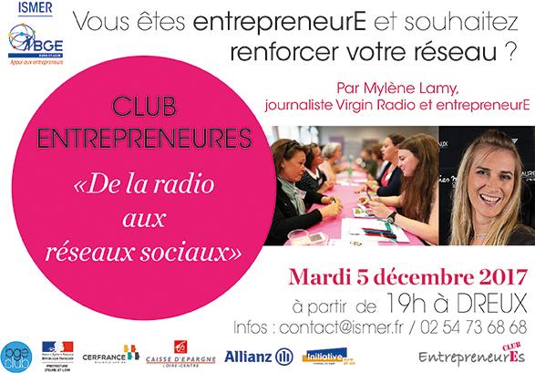 Le club des entrepreneurEs: un rendez-vous 100% féminin