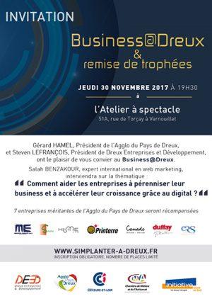 Business@Dreux : marketing digital et remise de trophées