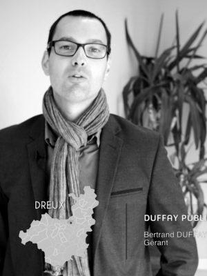 Bertrand Duffay, gérant de Duffay Publicité