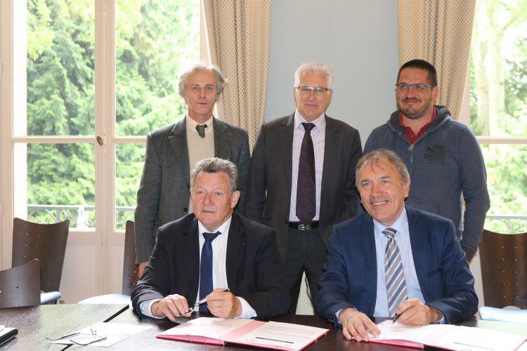 Signature d'une convention de partenariat entre l'Agglo du Pays de Dreux et la Chambre de Métiers et de l'Artisanat d'Eure-et-Loir