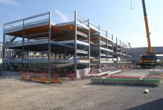 Pôle Gare de Dreux : les travaux du parking aérien avancent