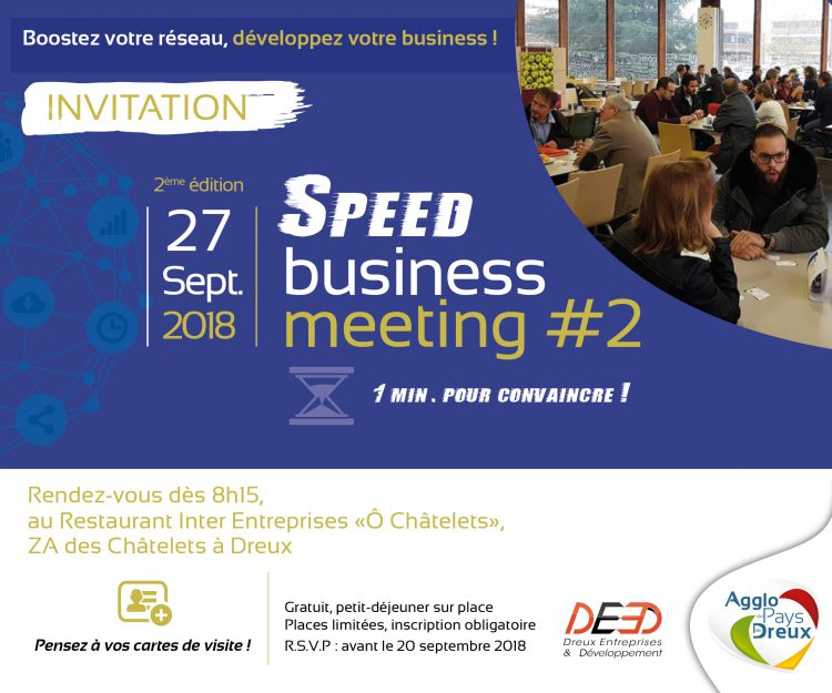 2ème édition du Speed Business Meeting