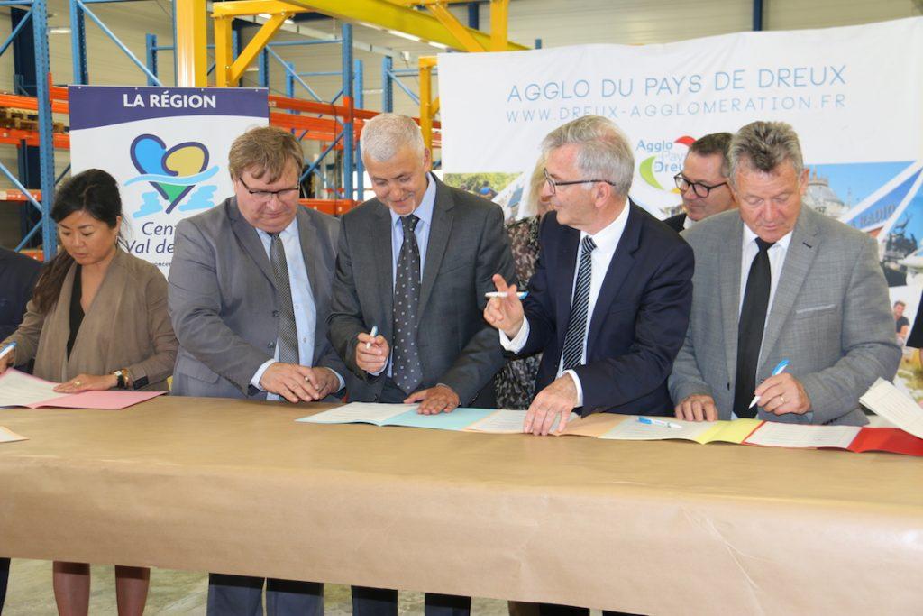Signature Territoire d'Industrie