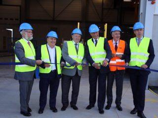 Inauguration de l'usine KP1 à Vernouillet