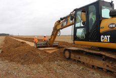 ZAC Porte Sud – Le point sur les fouilles archéologiques et les travaux d'aménagement
