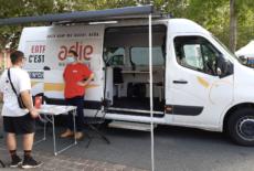 Le «bus de l'entrepreneuriat» sillonne Dreux et Vernouillet