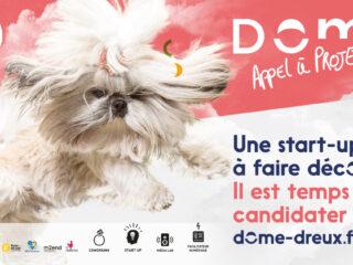 Candidatez pour intégrer l'incubateur de start-ups du Dôme !